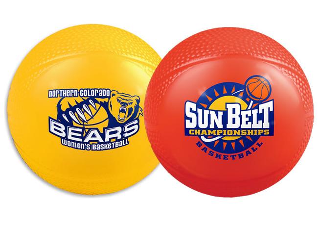 Vinyl Mini Basketballs