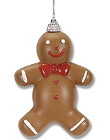 Custom Printed Gingerbread Man Christmas Ornaments