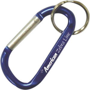 Engraved promotional carabiners