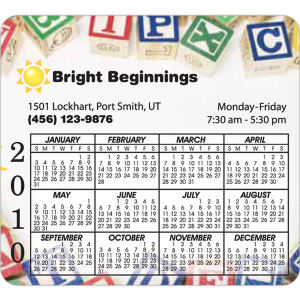 Promotional Magnetic Calendars