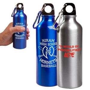 Promotional water bottles make great thank you gifts