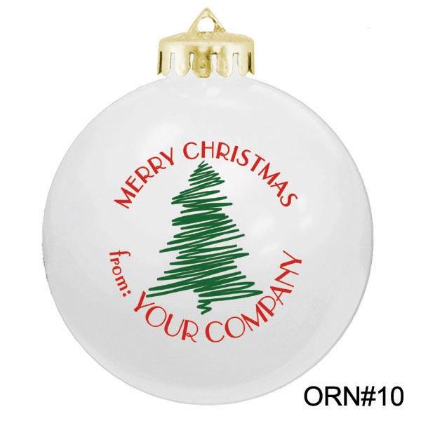 Custom Christmas Ornament Designs