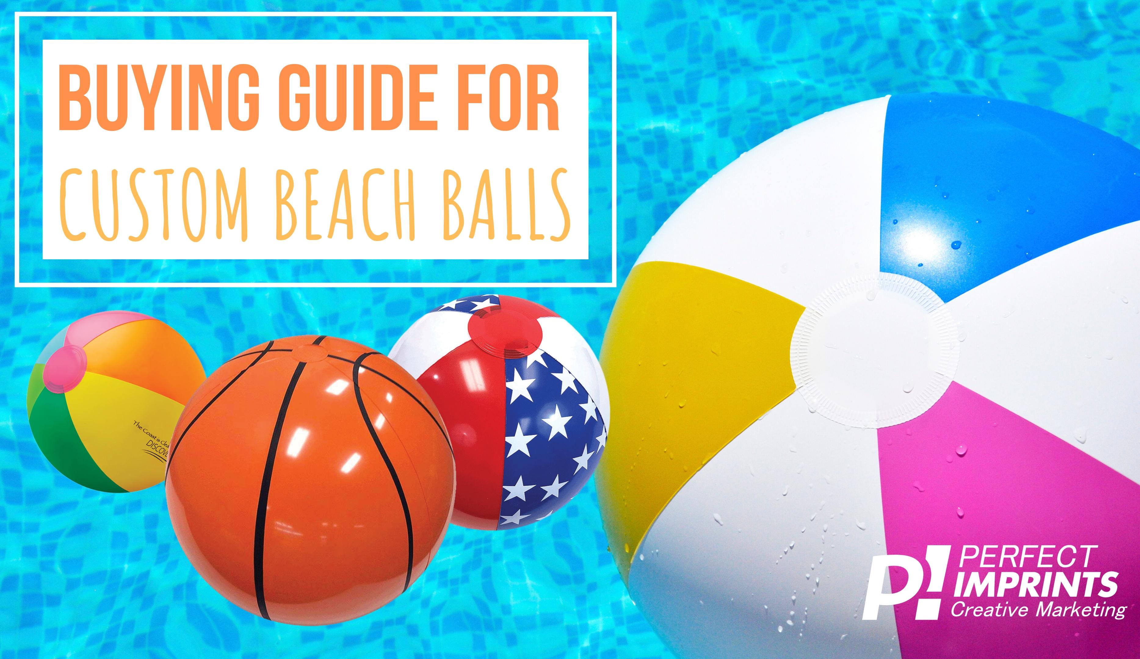 Buying Guide for Custom Beach Balls