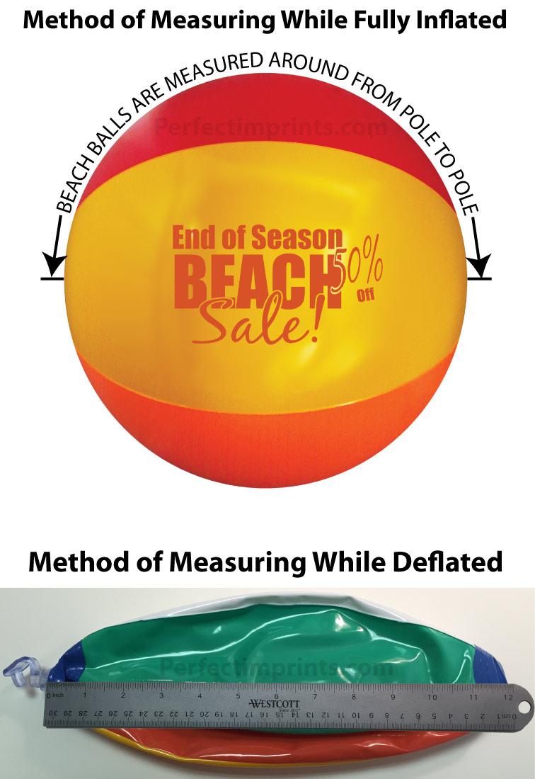How to Measure Beach Balls