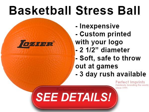 Thrifty Thursday - Basketball Stress Ball