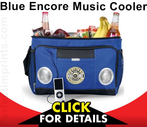 Royal Blue Encore Music Cooler