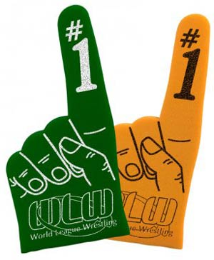Custom Foam Fingers and Foam Hands