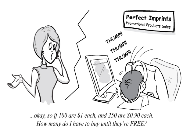 Funny Promotional Products Cartoon