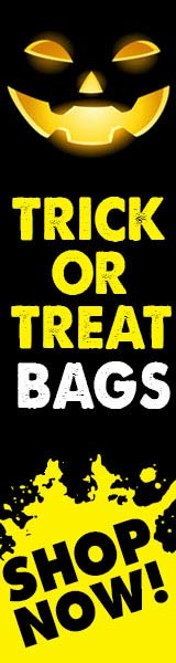 Buy Custom Halloween Trick or Treat Bags