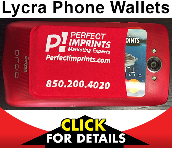 Promotional Lycra Phone Wallets