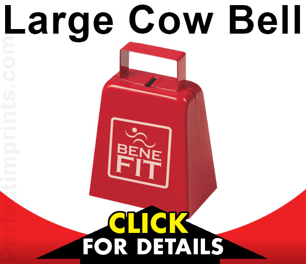 Custom Cow Bells for Football Games