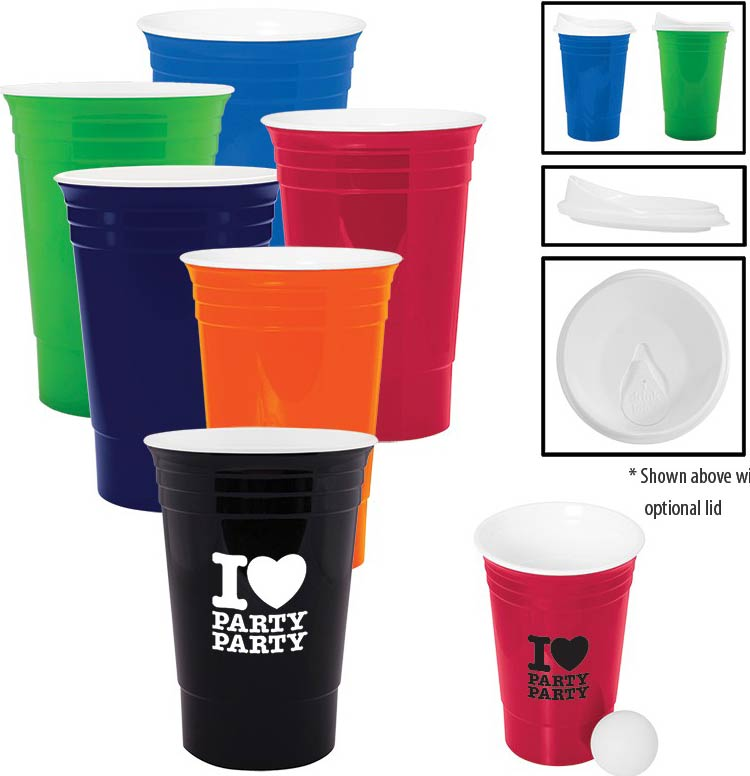 16 oz Party Tailgating Cup