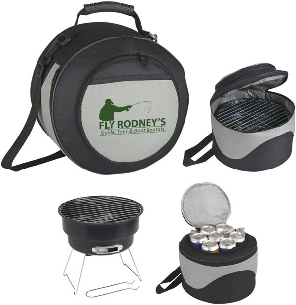 Promotional Grill and Cooler Combo