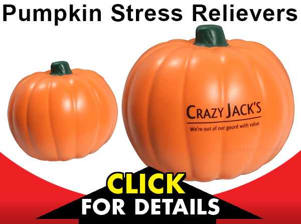 Pumpkin Stress Relievers for the Fall Season
