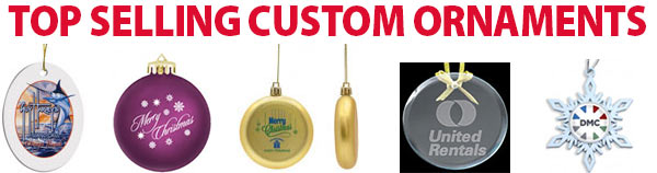 Top Selling Custom Christmas Ornaments