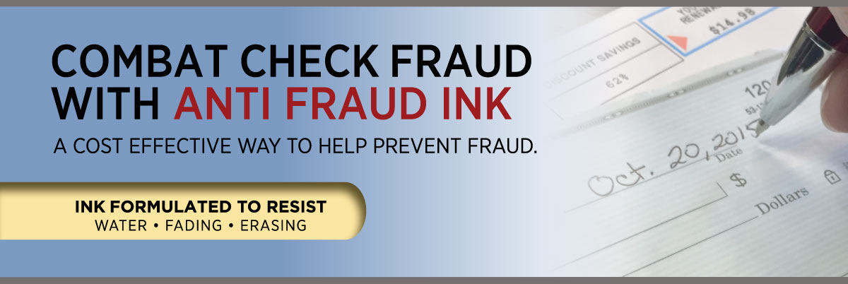Promotional Pens with Anti-Fraud Ink