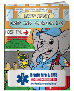 EMS Coloring Books