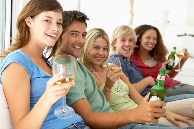Beer, Wine, and Liquor