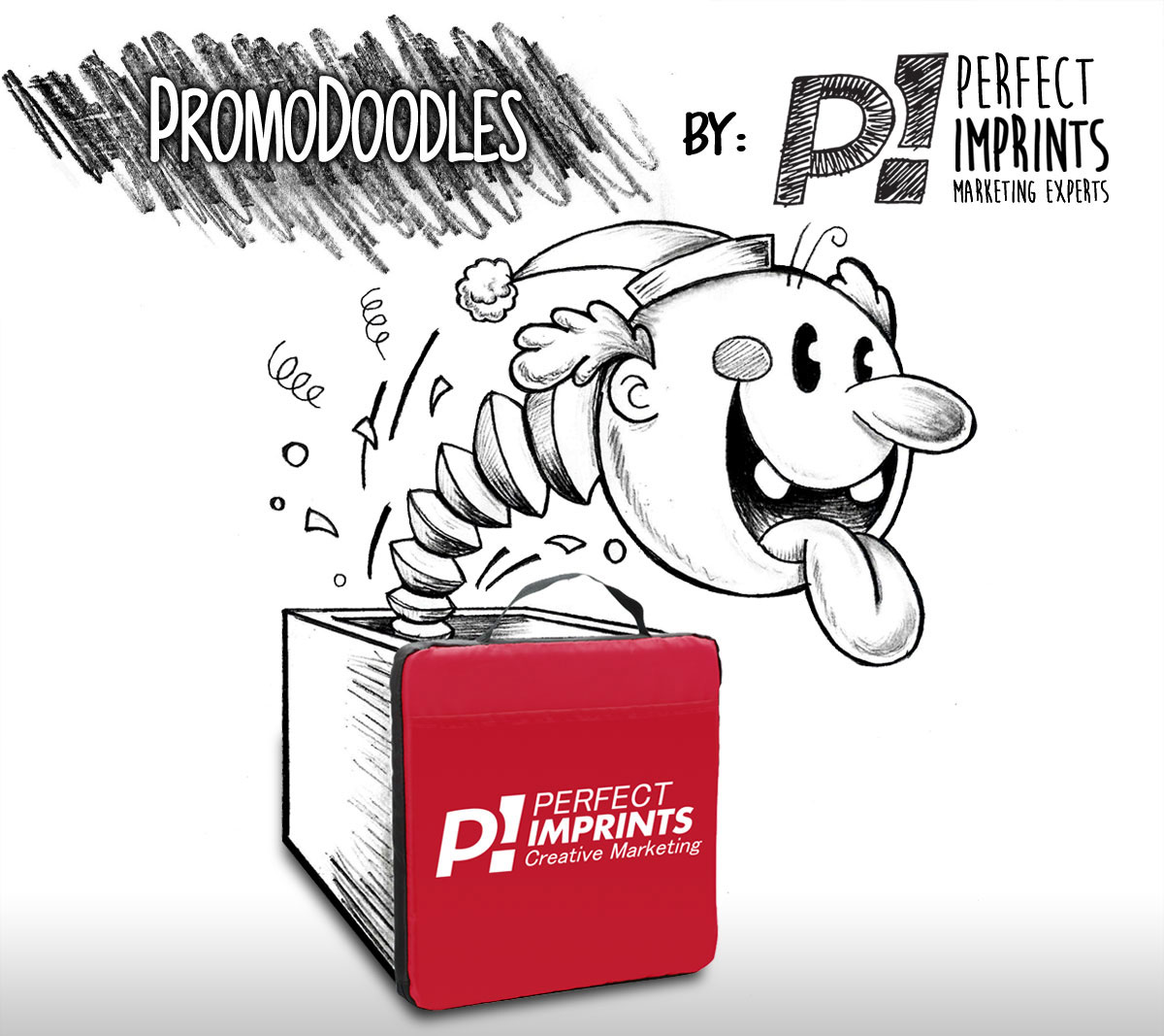 PromoDoodles by Perfect Imprints - Jack-in-the-Box - Stadium Seat Cushion