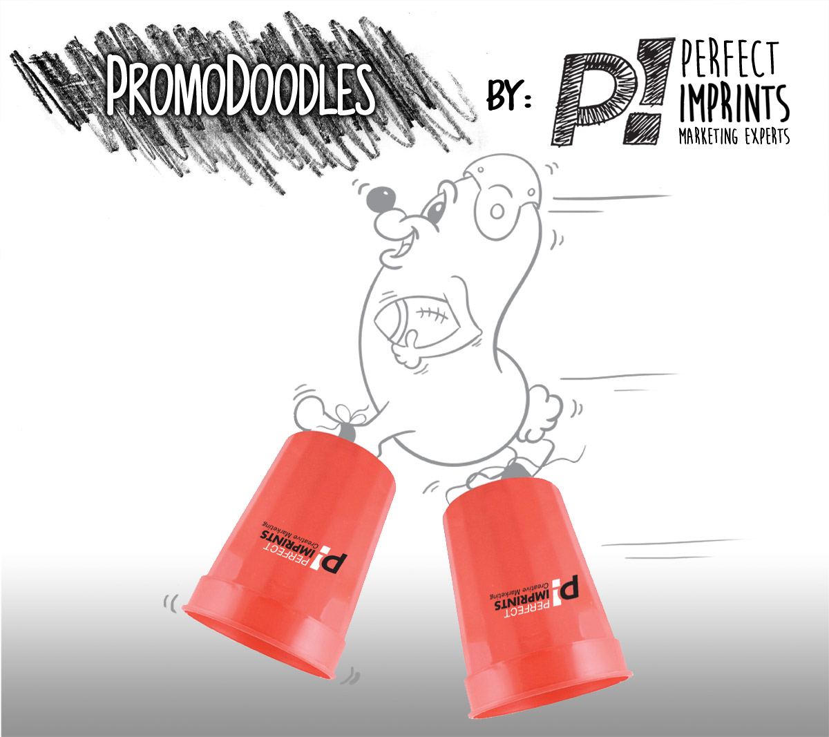 PromoDoodles by Perfect Imprints - Stadium Cups
