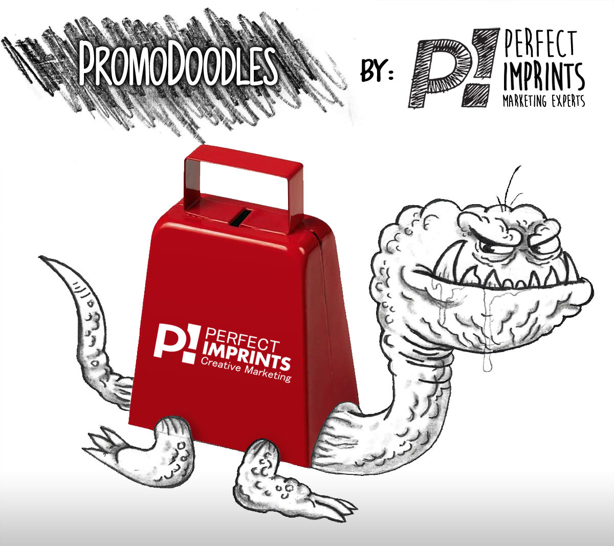 Promotional Cowbells - PromoDoodles by Perfect Imprints