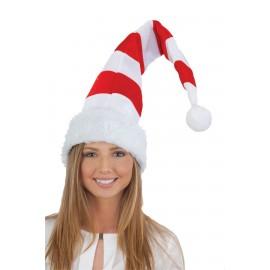 Tall striped Santa (Elf) hats