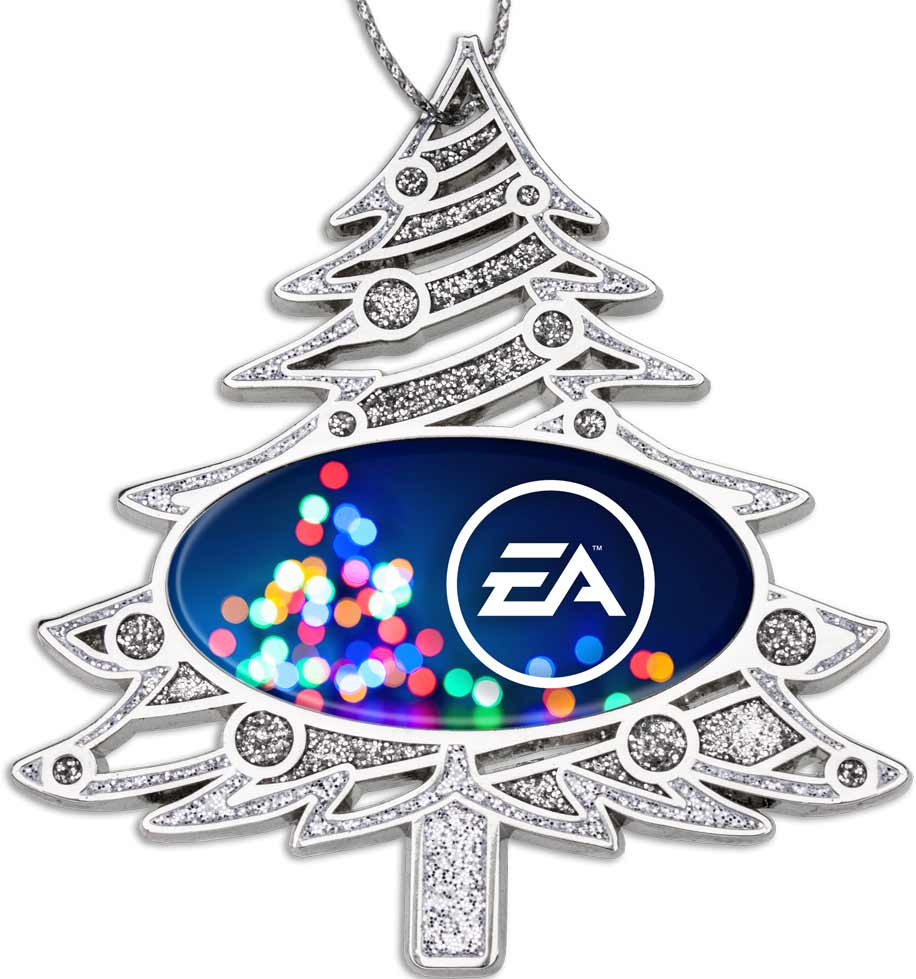 Christmas Tree Shaped Custom Ornaments