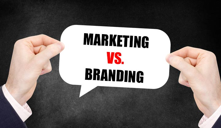 Marketing vs. Branding