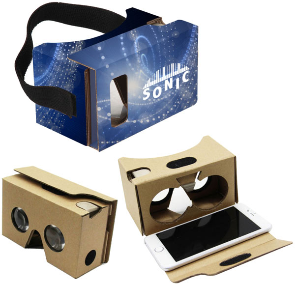 Custom Designed Virtual Reality Headsets For Mobile Phones