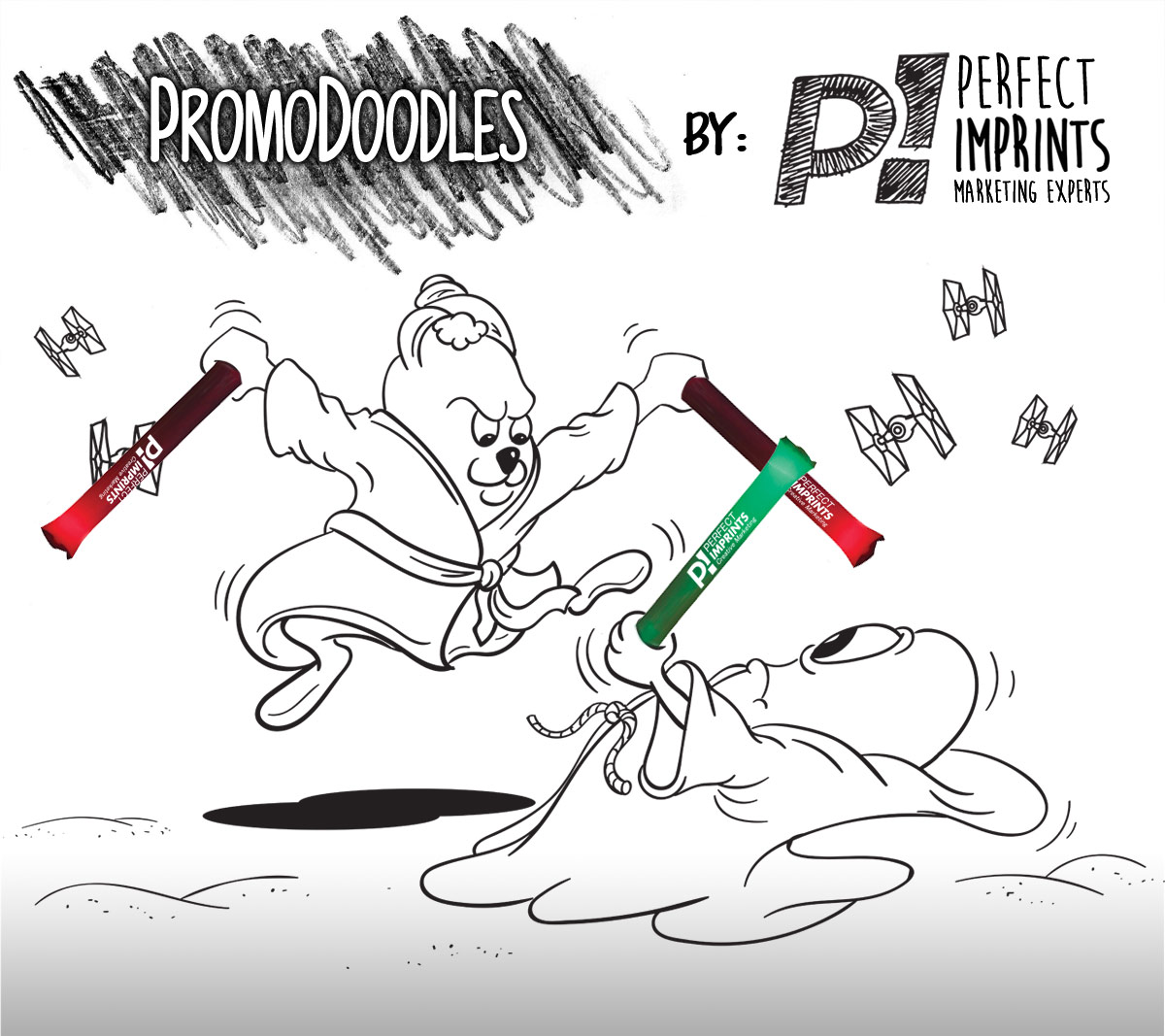 PromoDoodles by Perfect Imprints - Lightsaber Thundersticks
