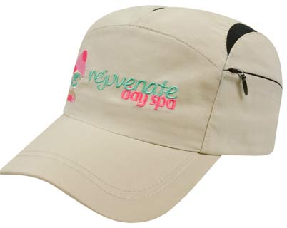 Embroidered Runner's Cap