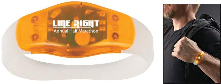 Running Wristband Safety Light