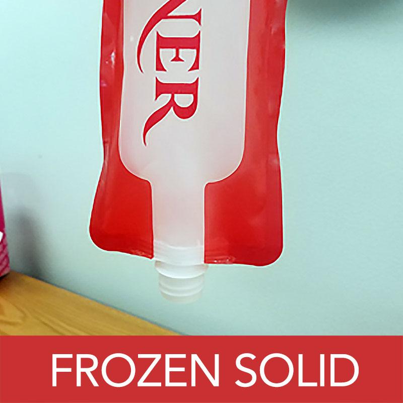 Foldable Wine Bottles - Can Be Frozen
