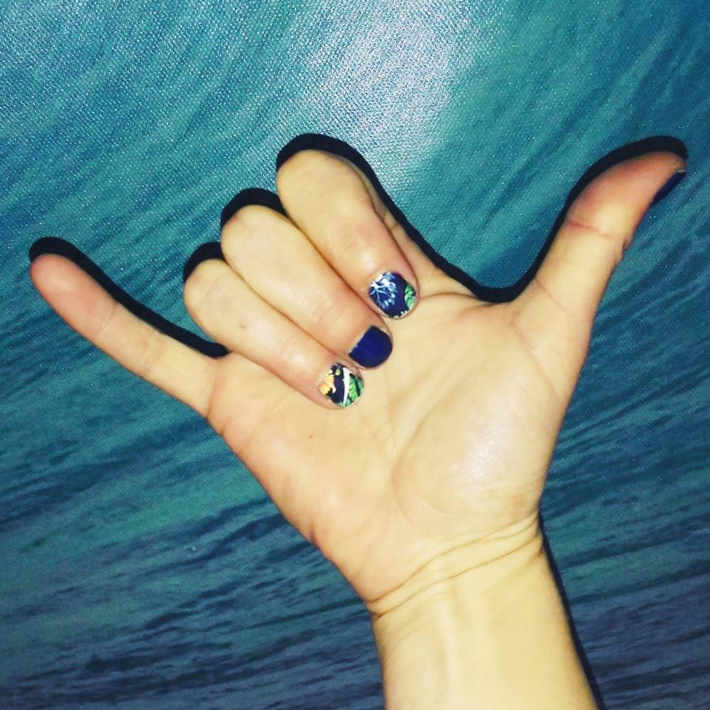 Branded Fingernails