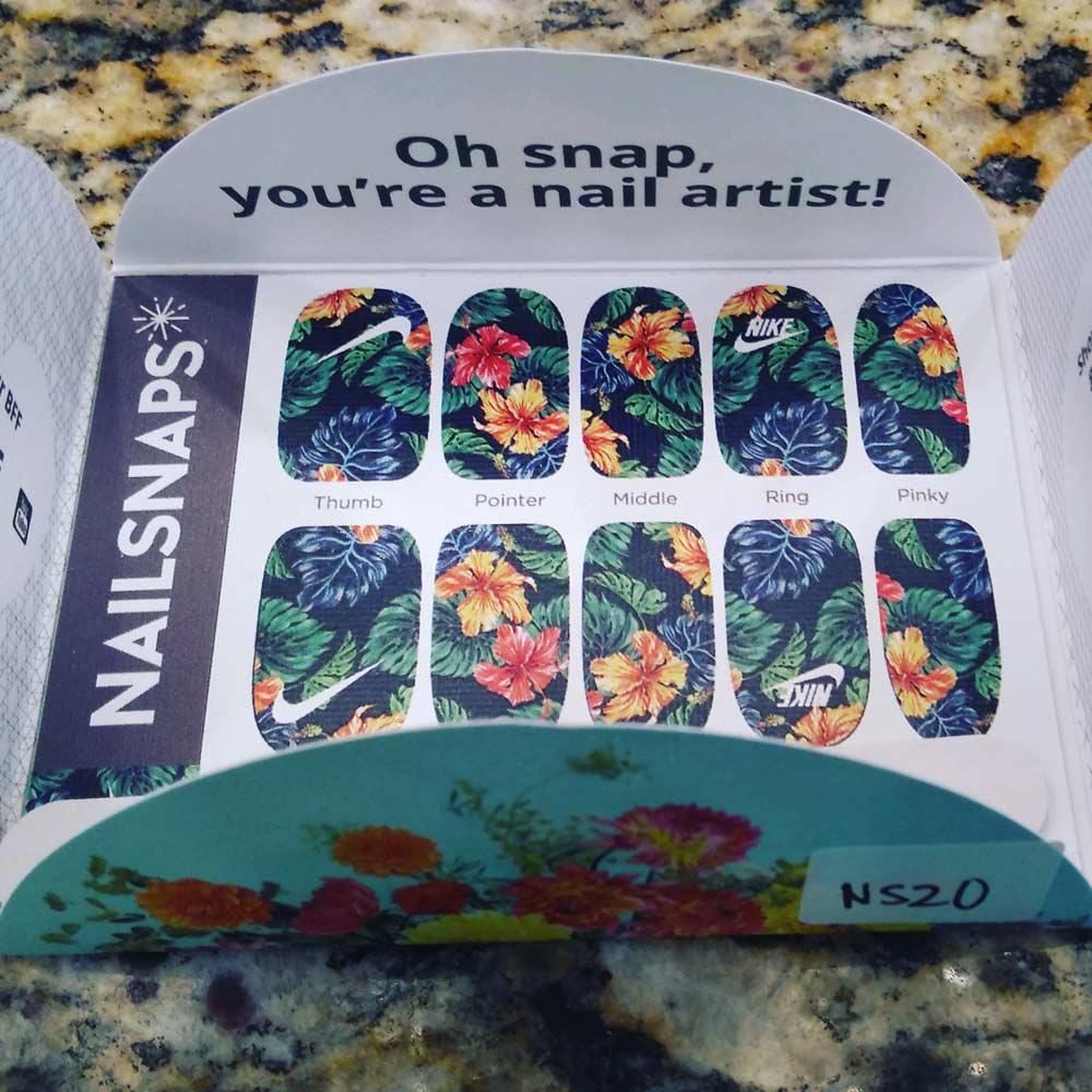 Nail Snaps - Logo Fingernail Prints
