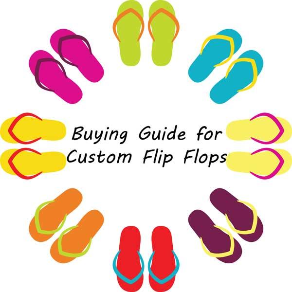 1ad3263372ea7 Buying Guide for Custom Flip Flops - Perfect Imprints Blog