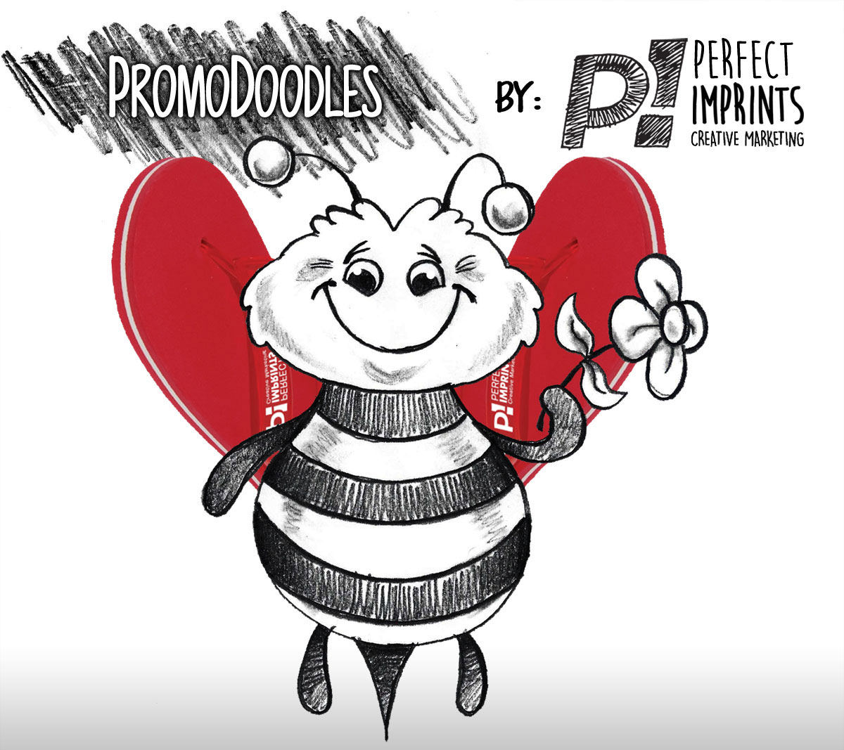 Flip Flop Bee - PromoDoodles by Perfect Imprints
