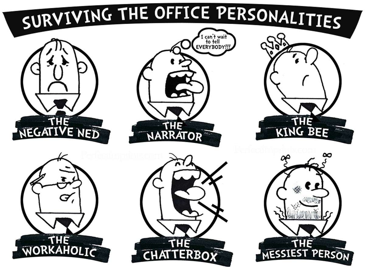 Surviving The Office Personalities (And How To Deal With Them)