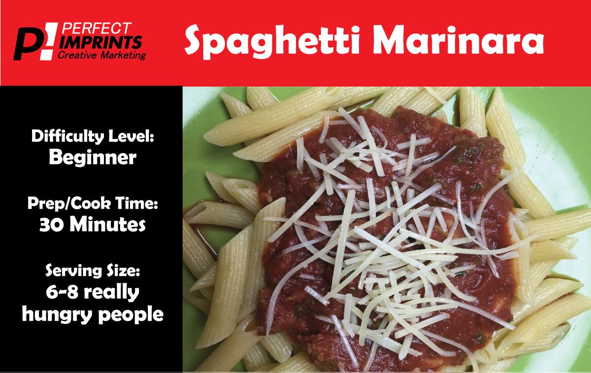 Spaghetti Marinara from Perfect Imprints
