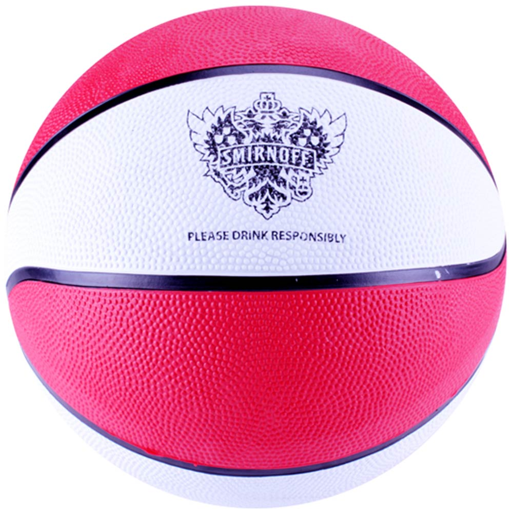 Full Size Basketballs with Alternating Panel Colors