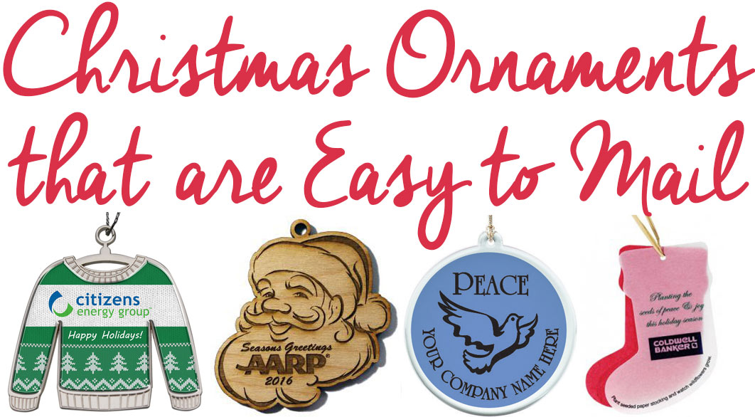 Christmas Ornaments that are Easy to Mail
