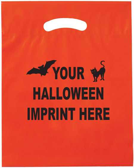 Custom Orange Halloween Bags