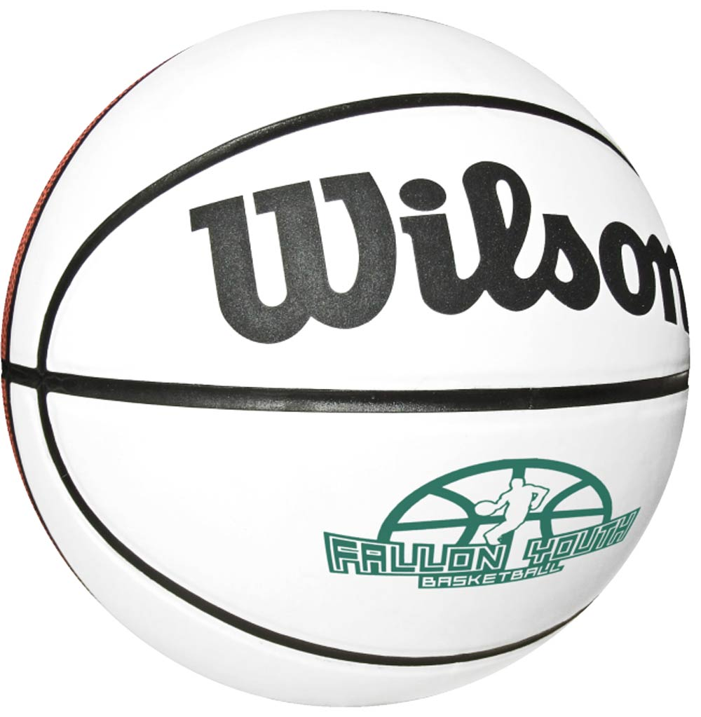"Custom Full Size 29.5"" Wilson Signature Basketballs"