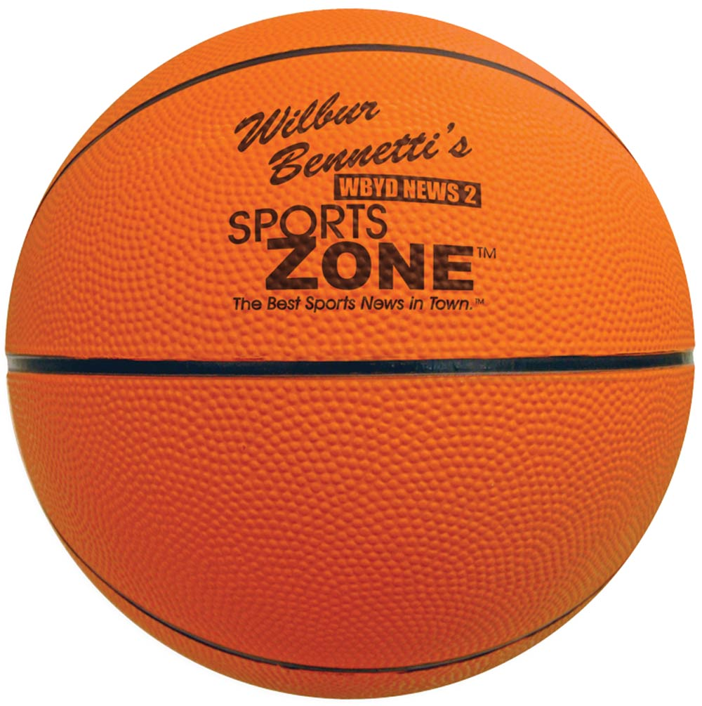"Full Size Custom Rubber Basketballs - 29.5"" - Size 7"