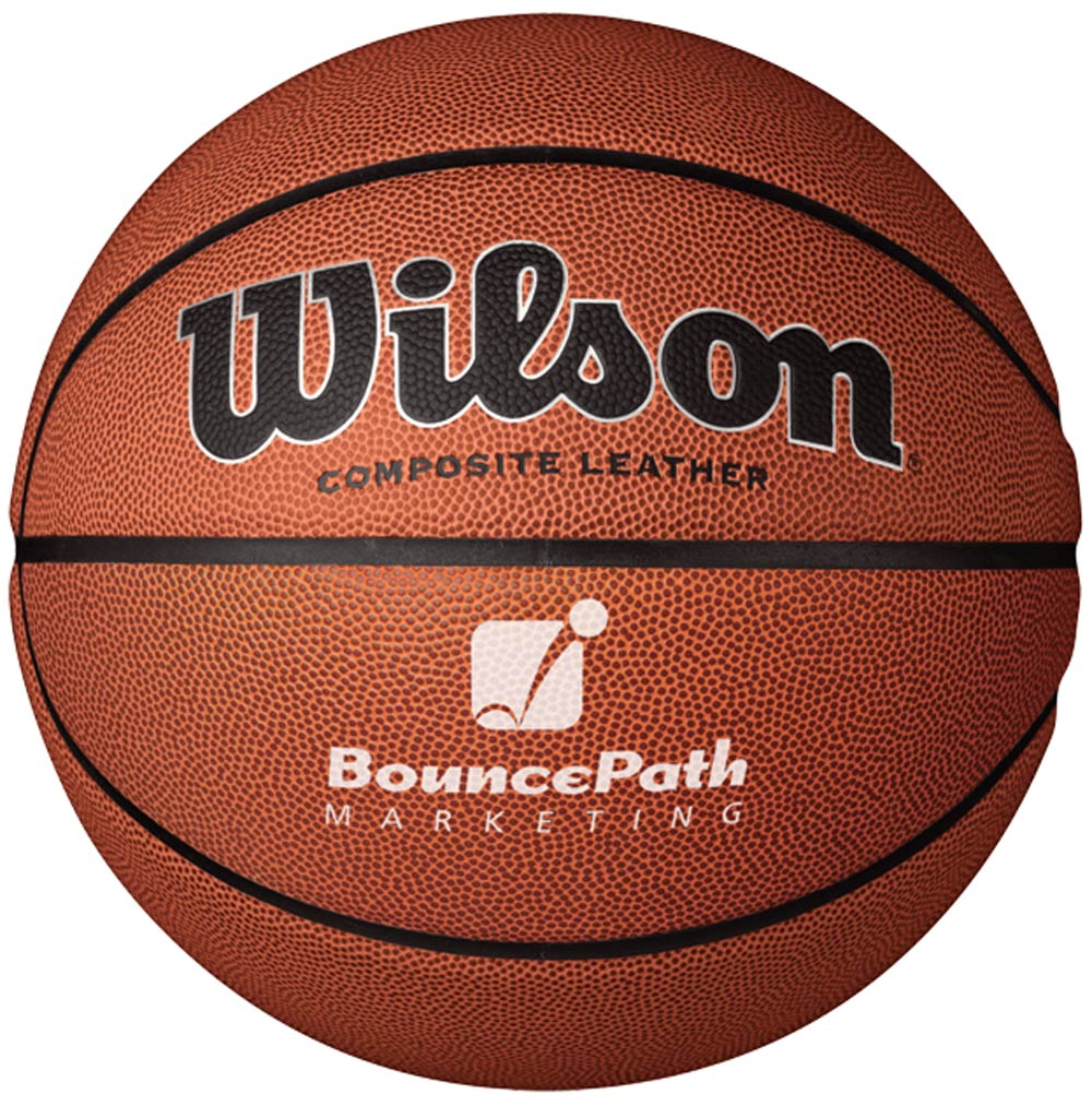 Custom Full Size Wilson Basketballs