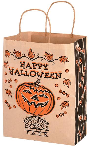 Custom Kraft Paper Halloween Bags