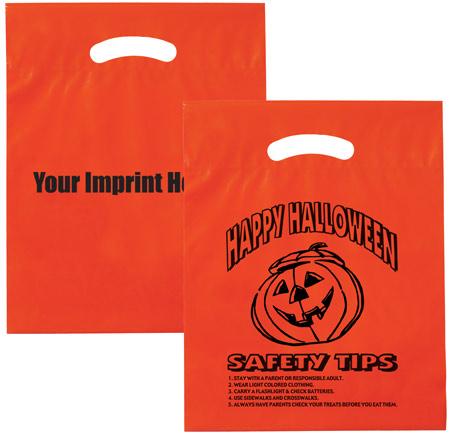 Rush Orange Halloween Bags