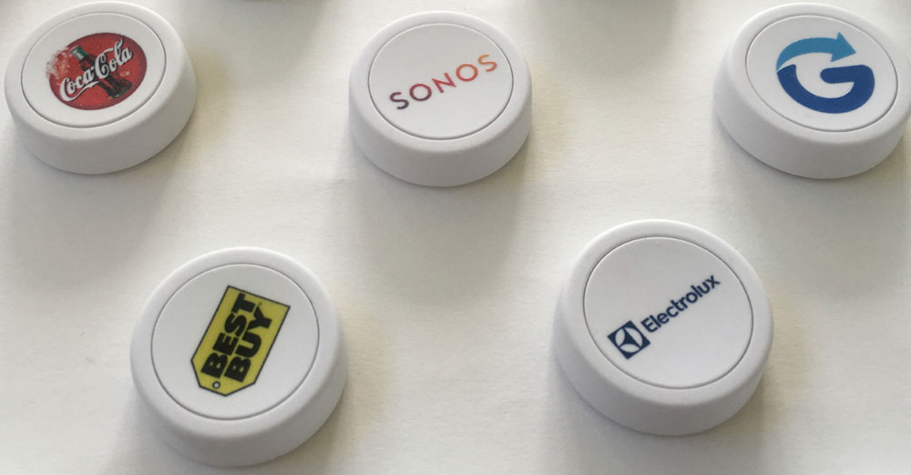 Onyt Smart Buttons - Printed with Your Logo