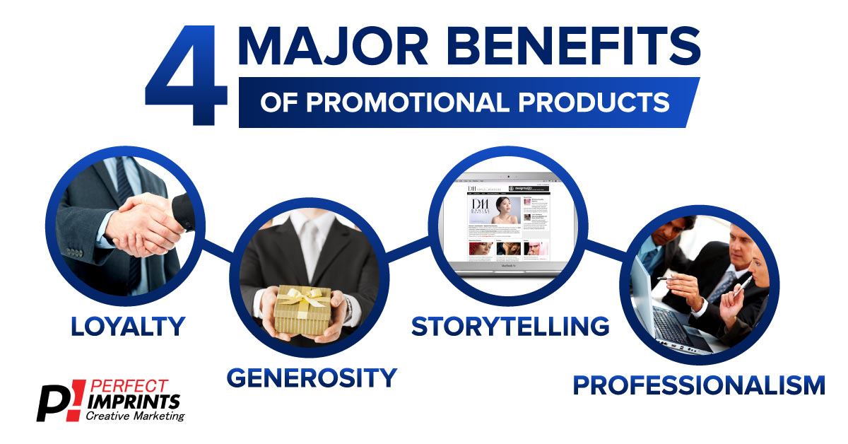 4 Major Benefits of Promotional Products