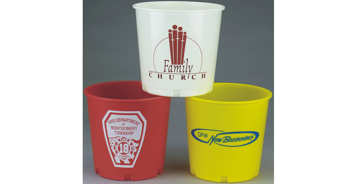 Custom Church Offering Buckets